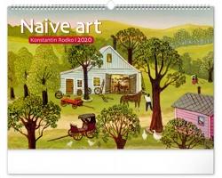 Nástěnný kalendář Naivní umění - Konstantin Rodko 2020