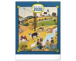 Nástěnný kalendář Josef Lada - Rok na vsi 2020