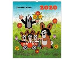 Nástěnný kalendář Krteček 2020