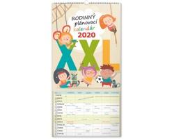 Nástěnný kalendář Rodinný plánovací XXL 2020 - slovenský