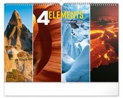 Nástěnný kalendář 4 Živly 2020