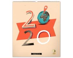 Nástěnný kalendář Dominik Miklušák 2020