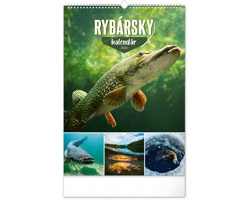 Nástěnný kalendář Rybářský 2020 - slovenský