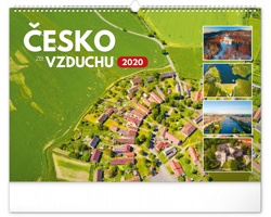 Nástěnný kalendář Česko ze vzduchu 2020