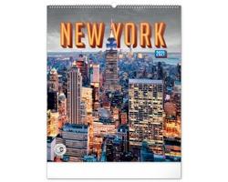 Nástěnný kalendář New York 2021