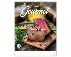 Nástěnný kalendář Gourmet 2021