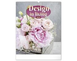 Nástěnný kalendář Design in Living 2021