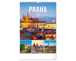 Nástěnný kalendář Praha 2021