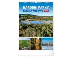 Nástěnný kalendář Národní parky Čech a Moravy 2021