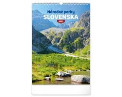 Nástěnný kalendář Národné parky Slovenska 2021 - slovenský