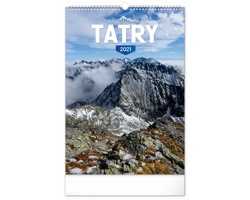 Nástěnný kalendář Tatry 2021 - slovenský
