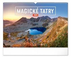 Nástěnný kalendář Magické Tatry 2021