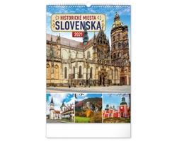 Nástěnný kalendář Historické miesta Slovenska 2021 - slovenský