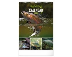 Nástěnný kalendář Rybářský 2021