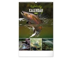 Nástěnný kalendář Rybársky 2021 - slovenský