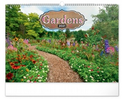 Nástěnný kalendář Zahrady 2021