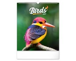 Nástěnný kalendář Ptáci 2021