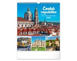 Nástěnný kalendář Česká republika 2021