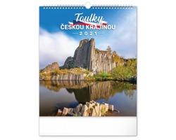 Nástěnný kalendář Toulky českou krajinou 2021