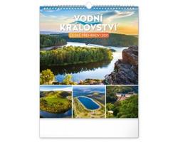 Nástěnný kalendář Vodní království - české přehrady 2021