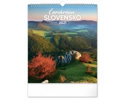 Nástěnný kalendář Čarokrásne Slovensko 2021 - slovenský