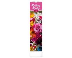 Nástěnný kalendář Květiny - Kvety 2021 - vázanka