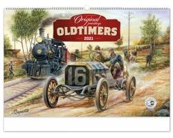 Nástěnný kalendář Oldtimers - Václav Zapadlík 2021