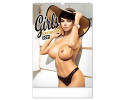 Nástěnný kalendář Girls Exclusive - Martin Šebesta 2021