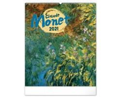 Nástěnný kalendář Claude Monet 2021