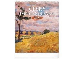 Nástěnný kalendář Český impresionismus 2021