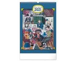 Nástěnný kalendář Josef Lada - Tradice a zvyky 2021