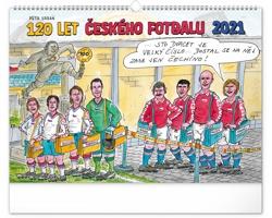 Nástěnný kalendář 120 let českého fotbalu - Petr Urban 2021