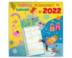 Nástěnný kalendář Rodinný plánovací 2022