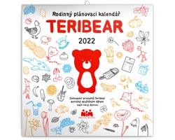 Nástěnný kalendář Rodinný plánovací TERIBEAR 2022