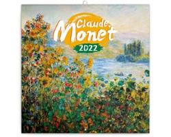 Nástěnný kalendář Claude Monet 2022 - poznámkový - západoevropský