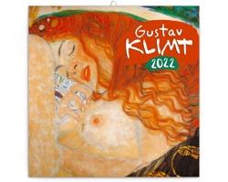 Nástěnný kalendář Gustav Klimt 2022 - poznámkový - západoevropský
