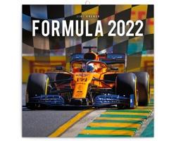 Nástěnný kalendář Formule - Jiří Křenek 2022 - poznámkový - východoevropský
