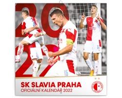 Nástěnný kalendář SK Slavia Praha 2022 - poznámkový