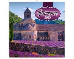Nástěnný kalendář Provence 2022 - poznámkový, voňavý - východoevropský