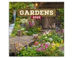 Nástěnný kalendář Zahrady 2022 - poznámkový - západoevropský