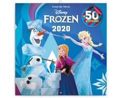 Nástěnný kalendář Frozen - Ledové království 2020 - poznámkový, 50 samolepek