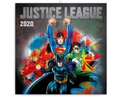 Nástěnný kalendář Justice League 2020 - poznámkový