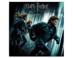 Nástěnný kalendář Harry Potter 2020 - poznámkový