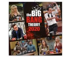 Nástěnný kalendář Teorie velkého třesku 2020 - poznámkový