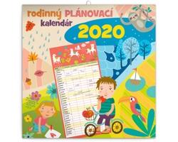 Nástěnný kalendář Rodinný plánovací 2020 - slovenský