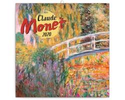 Nástěnný kalendář Claude Monet 2020 - poznámkový - západoevropský