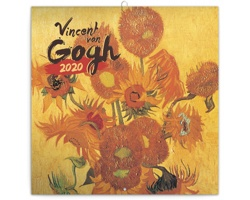 Nástěnný kalendář Vincent van Gogh 2020 - poznámkový - západoevropský