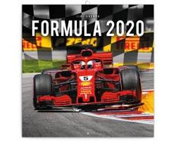 Nástěnný kalendář Formule - Jiří Křenek 2020 - poznámkový - západoevropský