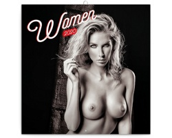 Nástěnný kalendář Women 2020 - poznámkový - západoevropský