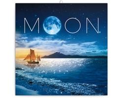 Nástěnný kalendář Měsíc 2020 - poznámkový